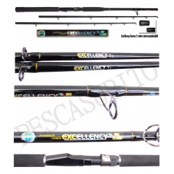 Canna Traina Dentice Vertical Jigging - Excellency 1.80Mt - max 250Gr