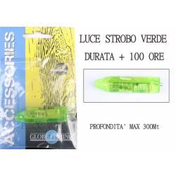 Luce Stroboscopica Verde Pesca Totani