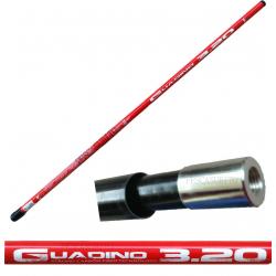 Manico Guadino Misto Carbonio - 4.00Mt