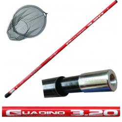 Guadino Completo Misto Carbonio Testa - 4.00Mt
