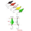 Kit 5 Freccia Spoon 3Gr Pesca Spinning Trota Trout Area Game