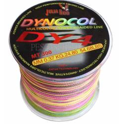 Trecciato Multicolore Pesca Vertical Jigging Totano Bolentino - 300Mt 0.37mm