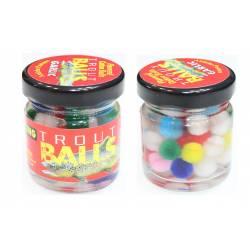 Esca per Trota Palline Galleggianti - Multicolor - Trout Balls
