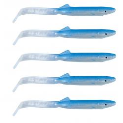 Raglou Anguilline Artificiali Traina - 5Cm Blu
