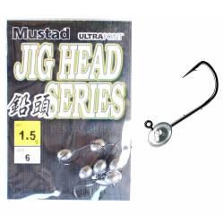 Jig Head 1,5Gr Pesca Spinning Trout Area Rock Fishing - Mustad