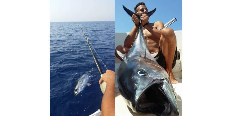 La pesca Big Game al Tonno Rosso